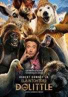 Dolittle - Finnish Movie Poster (xs thumbnail)