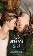 The Fault in Our Stars - Romanian Movie Poster (xs thumbnail)