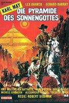 Die Pyramide des Sonnengottes - German Movie Poster (xs thumbnail)