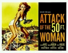 Attack of the 50 Foot Woman - Theatrical movie poster (xs thumbnail)