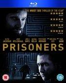 Prisoners - British Blu-Ray movie cover (xs thumbnail)