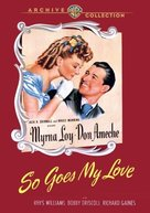 So Goes My Love - DVD cover (xs thumbnail)