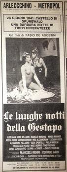 Le lunghe notti della Gestapo - Italian poster (xs thumbnail)