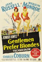 Gentlemen Prefer Blondes - Australian Theatrical movie poster (xs thumbnail)
