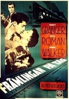 Strangers on a Train - Swedish Movie Poster (xs thumbnail)