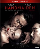 The Handmaiden - Canadian Blu-Ray movie cover (xs thumbnail)