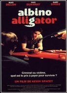 Albino Alligator - French Movie Poster (xs thumbnail)