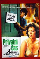 Private Lessons - Yugoslav Movie Poster (xs thumbnail)