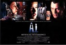 Artificial Intelligence: AI - British Movie Poster (xs thumbnail)