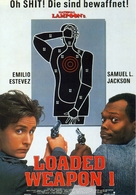 Loaded Weapon - German Movie Poster (xs thumbnail)
