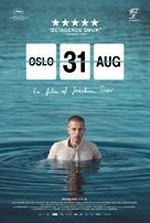 Oslo, 31. august - Danish Movie Poster (xs thumbnail)
