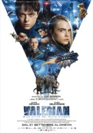 Valerian and the City of a Thousand Planets - Italian Movie Poster (xs thumbnail)