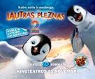 Happy Feet Two - Latvian Movie Poster (xs thumbnail)