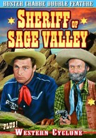 Sheriff of Sage Valley - DVD cover (xs thumbnail)