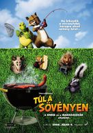 Over the Hedge - Hungarian Movie Poster (xs thumbnail)