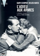 A Farewell to Arms - French DVD cover (xs thumbnail)