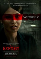 Exam - Argentinian Movie Poster (xs thumbnail)