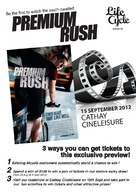 Premium Rush - Singaporean Movie Poster (xs thumbnail)