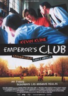 The Emperor's Club - Spanish poster (xs thumbnail)