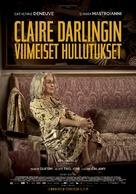 La dernière folie de Claire Darling - Finnish Movie Poster (xs thumbnail)