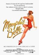 Memphis Belle - Spanish Movie Poster (xs thumbnail)