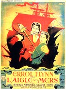 The Sea Hawk - French Movie Poster (xs thumbnail)