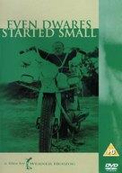 Auch Zwerge haben klein angefangen - British Movie Cover (xs thumbnail)