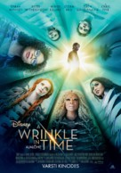 A Wrinkle in Time - Estonian Movie Poster (xs thumbnail)