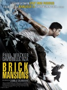 Brick Mansions - French Movie Poster (xs thumbnail)