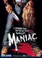 Maniac - DVD movie cover (xs thumbnail)