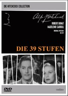 The 39 Steps - German Movie Cover (xs thumbnail)