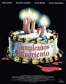 Bloody Birthday - Spanish Movie Cover (xs thumbnail)