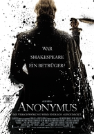 Anonymous - German Movie Poster (xs thumbnail)