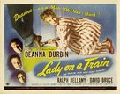 Lady on a Train - Movie Poster (xs thumbnail)