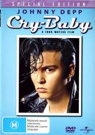 Cry-Baby - Australian DVD movie cover (xs thumbnail)