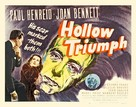 Hollow Triumph - Theatrical poster (xs thumbnail)