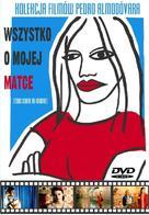 Todo sobre mi madre - Polish DVD movie cover (xs thumbnail)