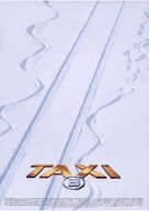 Taxi 3 - French Movie Poster (xs thumbnail)