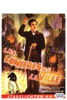 City Lights - Belgian Movie Poster (xs thumbnail)