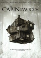 The Cabin in the Woods - German Movie Cover (xs thumbnail)