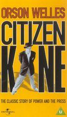 Citizen Kane - British VHS movie cover (xs thumbnail)
