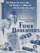 Four Daughters - Movie Poster (xs thumbnail)