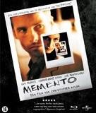 Memento - Dutch Blu-Ray movie cover (xs thumbnail)