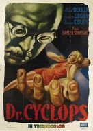 Dr. Cyclops - Italian Movie Poster (xs thumbnail)