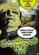 The Evil of Frankenstein - Czech DVD movie cover (xs thumbnail)