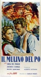 Il mulino del Po - Italian Movie Poster (xs thumbnail)