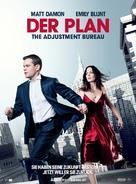 The Adjustment Bureau - Swiss Movie Poster (xs thumbnail)