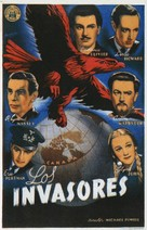 49th Parallel - Spanish Movie Poster (xs thumbnail)