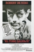 Raging Bull - Argentinian Movie Poster (xs thumbnail)