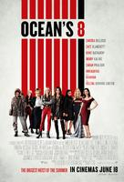 Ocean's 8 - British Movie Poster (xs thumbnail)